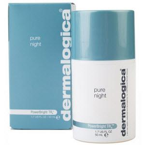 Dermalogica PowerBright TRx Pure Night nattkräm för män