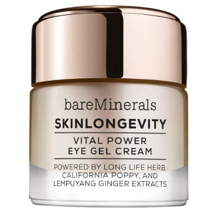 bareMinerals skinlongevity vital power eye cream gel